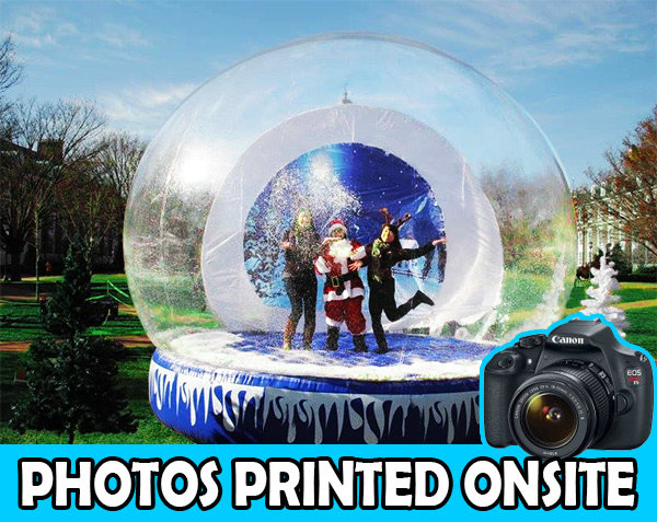 Human Snow Globe With Printed Photos - 3 Hours