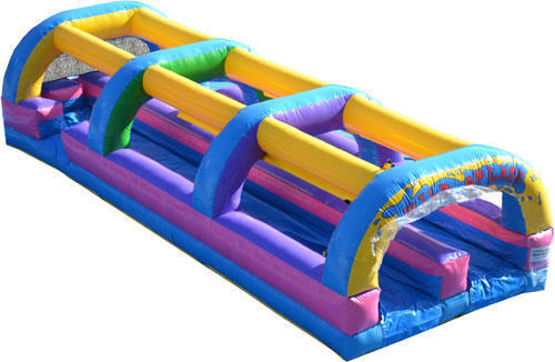Double Lane Wild Splash Slip n Slide
