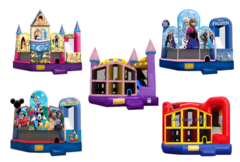 5 in 1 combo bounce houses