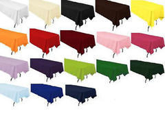 custom color table cloths (rectangle 6ft table)