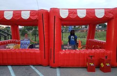 Carnival And Concession Tents and Inflatable Tiki Bar