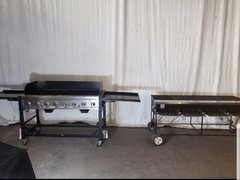Commercial Gas And Charcoal Grills
