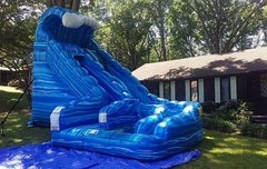 Large Blue Slide