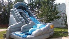 Wild Rapids Dual Lane Water Slide