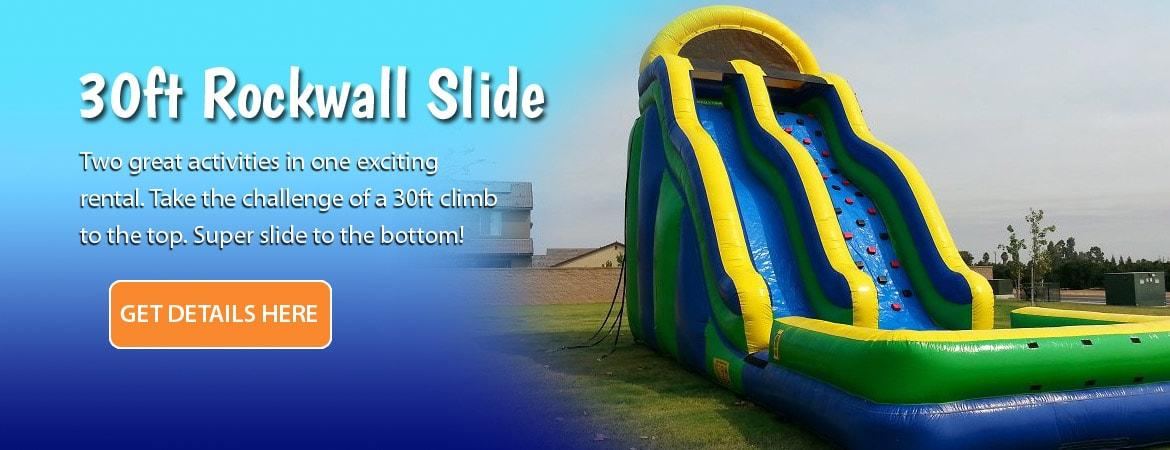 30ft Rockwall Slide Combo