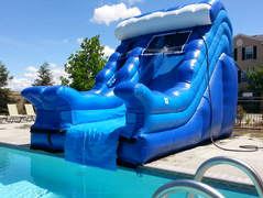 18 Ft Wave Poolslide