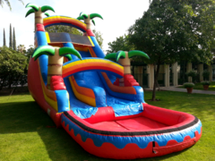 22 Ft Tropical Dry Slide