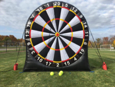 Giant Soccer Dart Game