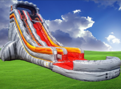 30 Ft Volcano Rush Waterslide