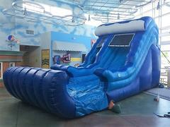 18 Ft Wave Dry Slide
