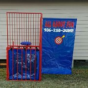 Dunking Booth and Games