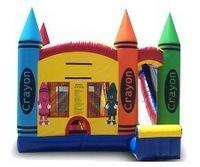 Crayon Bounce House Rental Euless