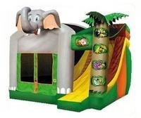 All American Inflatables Elephant Combo Hurst