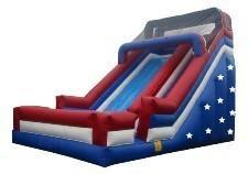 All American Inflatables Giant Dry Slide
