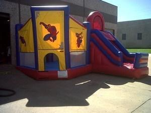 Spider Combo Bounce House Rental White Settlement