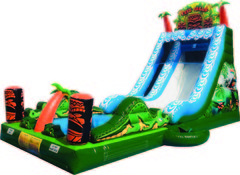 18ft. Tiki Falls Splash Slide