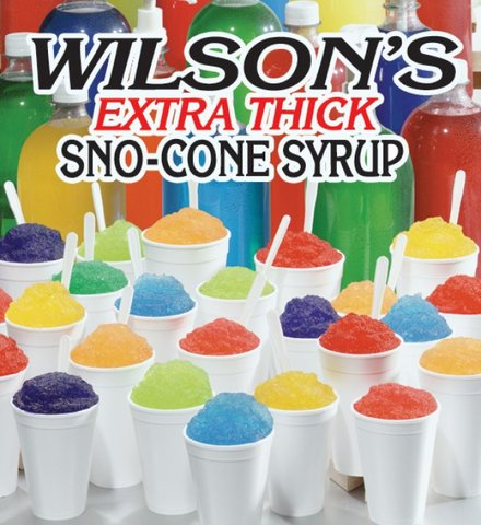 25+ Snow Cone Flavors Available