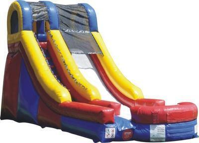 16ft Blue Water Slide
