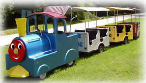 Blue Choo-Choo train