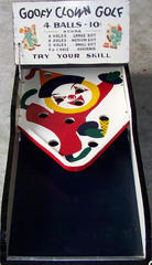 Vintage Goofy Clown Golf