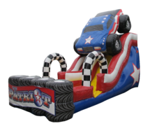 The Patriot Monster Truck 18' Slide