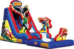 Justice League Slide with Pool