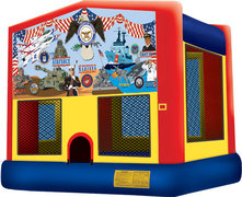 US Military Bounce House