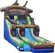 19 Foot Rockin Rapids Slide