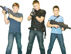 Alpha Bravo Mobile Laser Tag Friday-Sunday for 30 Players