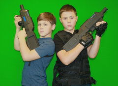 Alpha Bravo Mobile Laser Tag Friday-Sunday for 20 Players