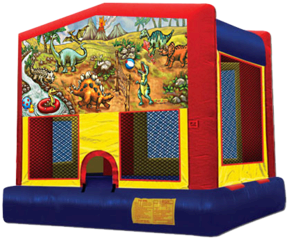Dino Planet Bounce House