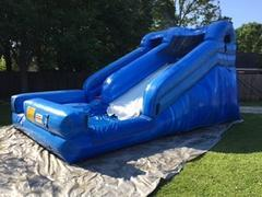 12ft Big Blue Water Slide