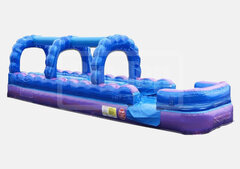 36' Dual Lane Slip N Slide