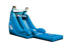 16ft Dolphin Super Splash Water Slide