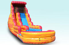 20ft Fire n Ice Water Slide