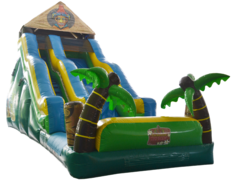 21' Tiki Island Water Slide