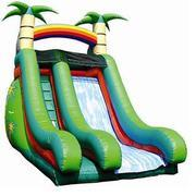 16ft Tropical DRY slide