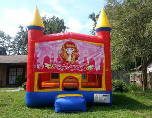 Princess Bounce House 2 in 1