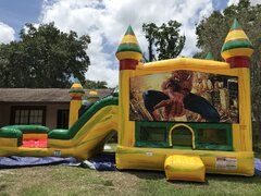 Spider man Bounce House Combo