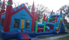65ft Castle Obstacle Course