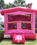Princess Bounce House Pink