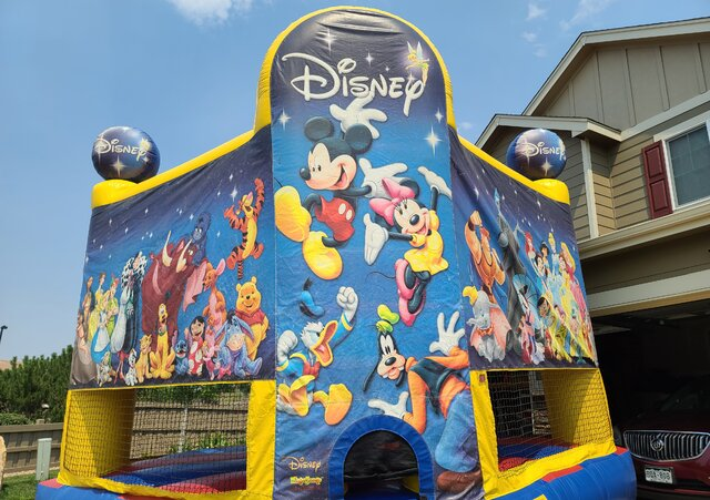 World of Disney Bounce House