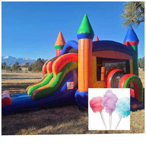 Combo and Cotton Candy Party Package