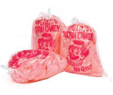 10 Bags of Cotton Candy