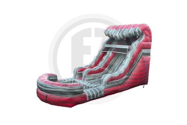 16ft Liquid Hot Magma Waterslide