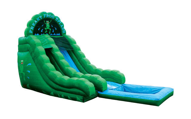 18ft Freaky Frog Waterslide
