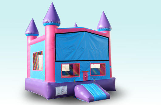 99.00 Pink & Purple Bounce House