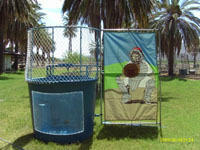 Cool off with a Carnival Style Dunk Tank