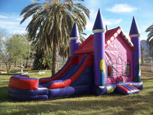 Toddler/Preteen Bounce Slide Combo