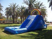 $295 Rainbow Water Slide w/Pool